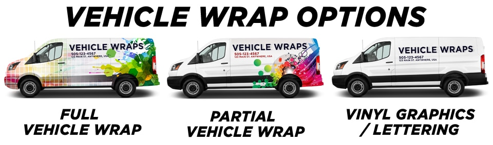Berwyn Vehicle Wraps vehicle wrap options