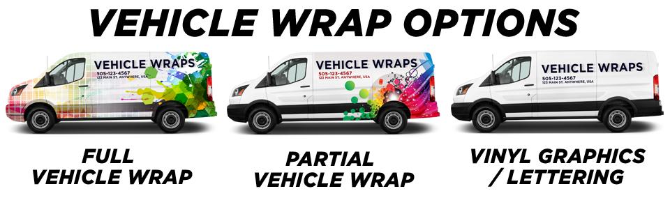 Bartow Vehicle Wraps vehicle wrap options